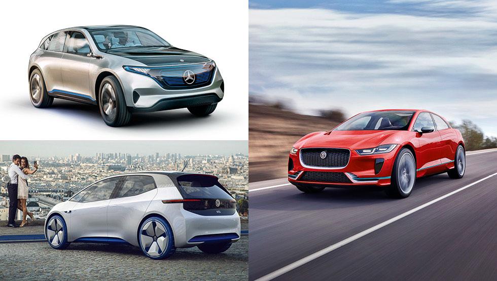 Los SUV que amarás en el futuro: Jaguar i-Pace, Mercedes EQ...