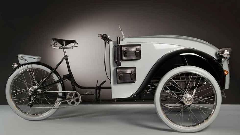 La bicicleta que quería ser un Citroën 2 CV