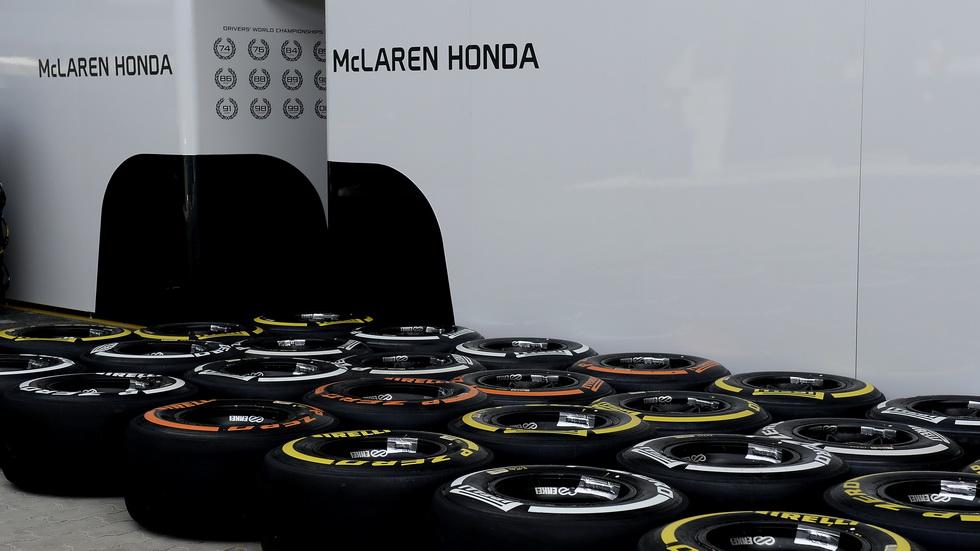 Los números de Pirelli en la Fórmula 1