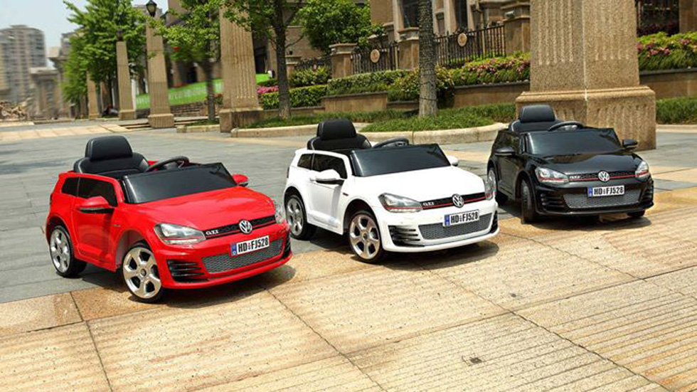 El primer Volkswagen Golf GTI eléctrico será para niños