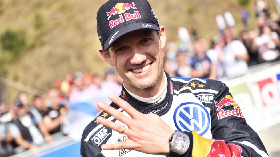 Ogier correrá con un Ford Fiesta WRC el Mundial de Rallyes 2017