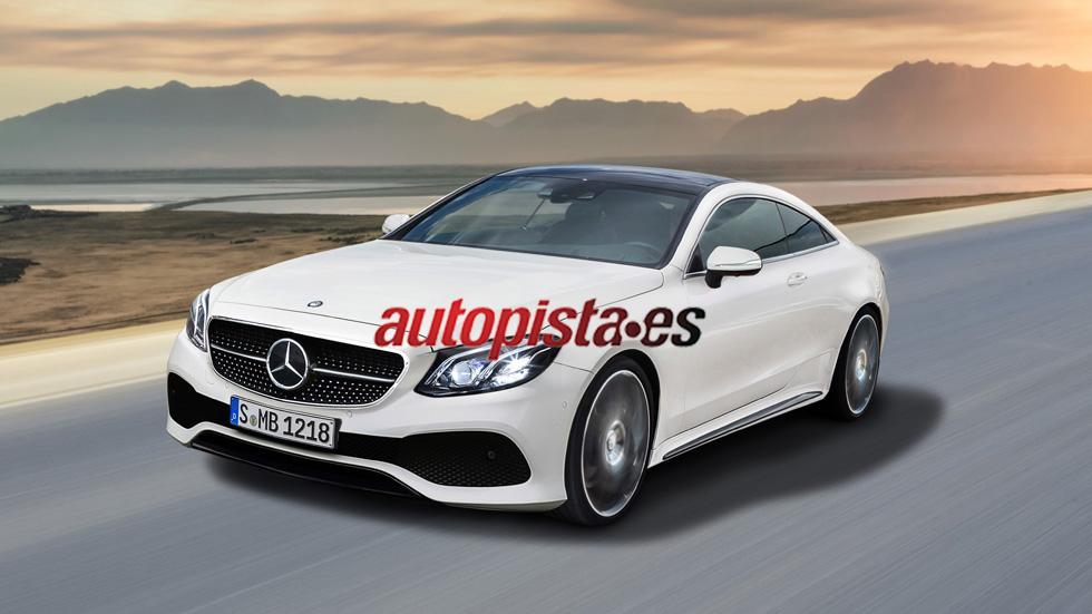 Mercedes-Benz Clase E Coupé 2017, fotos exteriores y datos