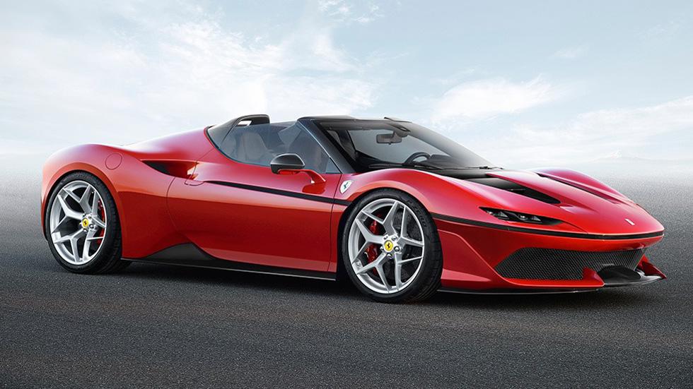 Ferrari J50: mucho más que un Ferrari 488 Spider