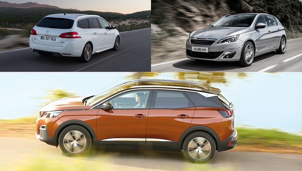 Peugeot 3008, 308 y 308 SW: mejor… ¿SUV, compacto o familiar?