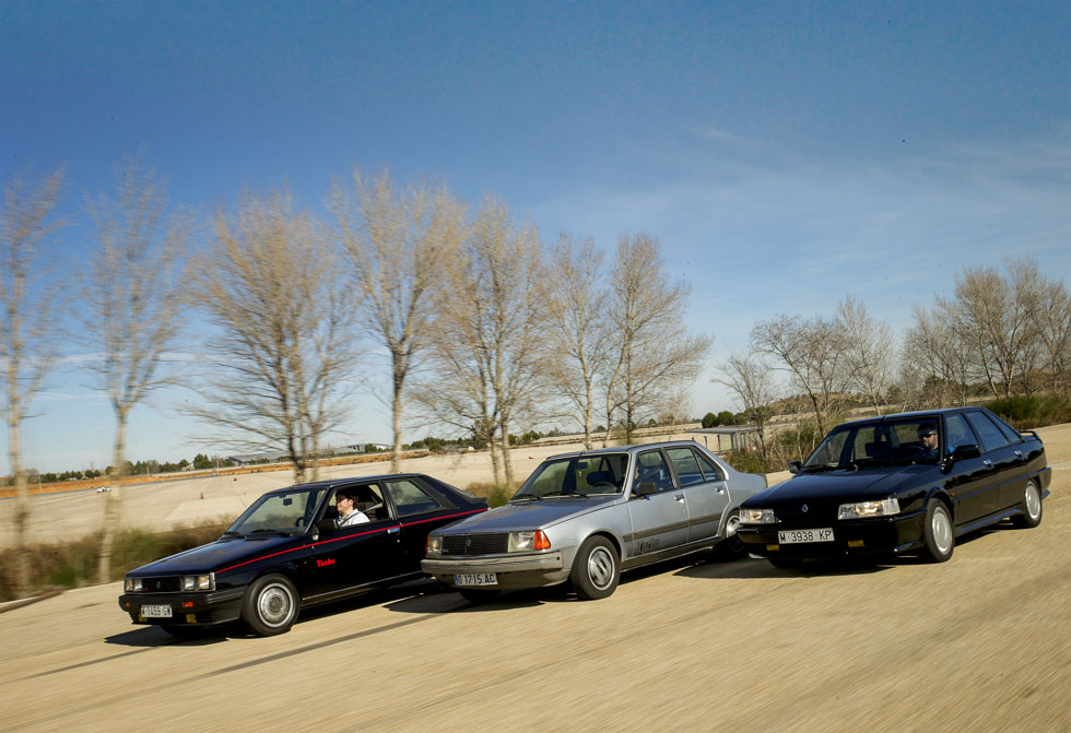Coches para el recuerdo: Renault 11 Turbo, 18 Turbo y 21 Turbo
