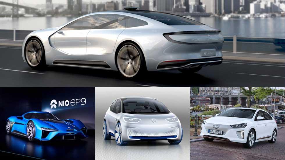 Los coches eléctricos más sorprendentes de 2016