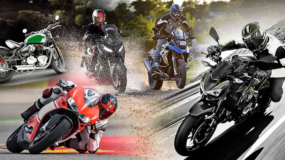 Las 5 motos más espectaculares de sus categorías para 2017