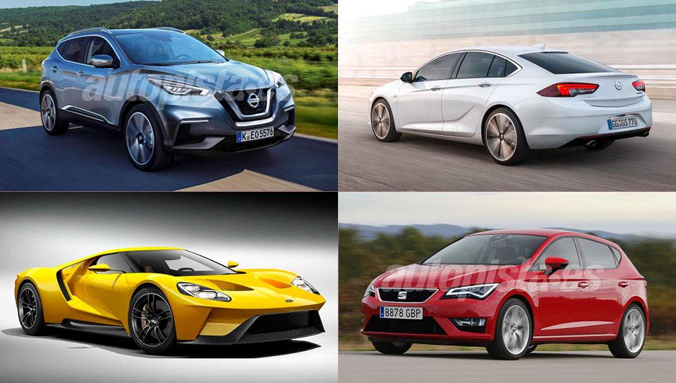 Los coches más esperados y espectaculares que llegan en 2017