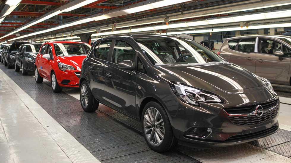 Los Opel Corsa y Adam 2018 se fabricarán en la planta de Figueruelas