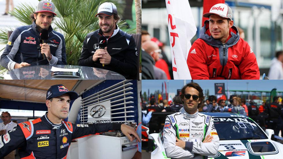 Así lo hicieron los pilotos españoles en competición en 2016