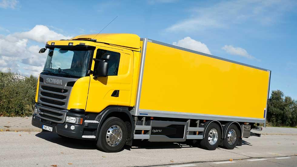 Scania G320 Hybrid, a prueba un camión híbrido