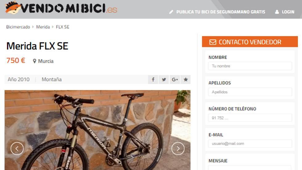 Nace VENDOMIBICI.ES: la web de compra y venta de bicis de segunda mano