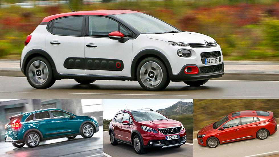 Consumos reales en 2016: los 10 coches de menos de 5 l/100 km