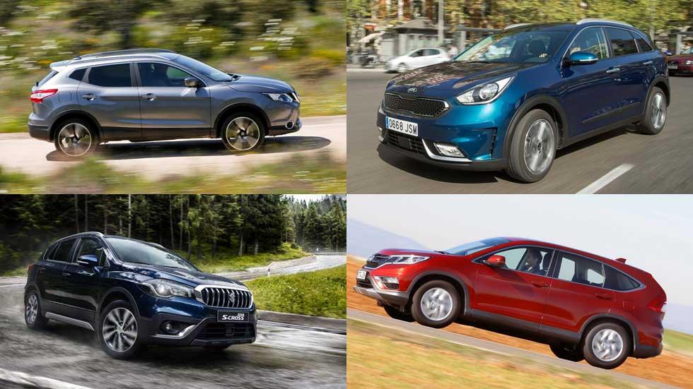 Los 15 SUV que menos consumen, según nuestras pruebas