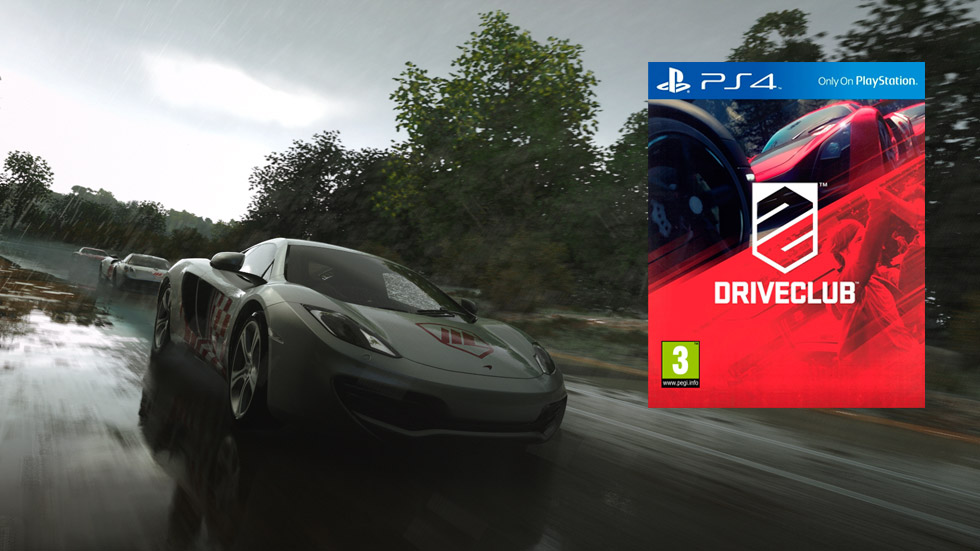 Driveclub para PS4: ¡regalamos 5 videojuegos para estas Navidades!