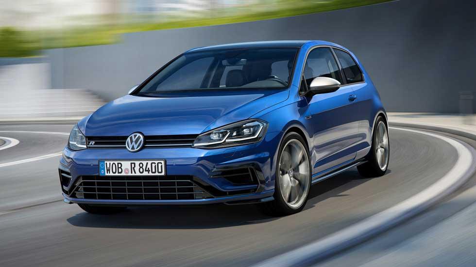 Volkswagen Golf R 2017: ¡ahora, con 310 CV!