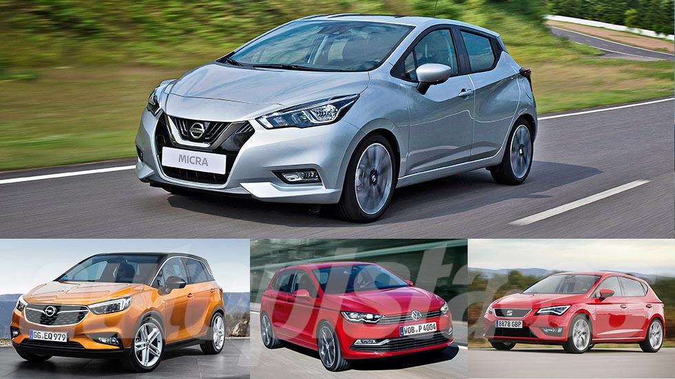 Todos los nuevos coches utilitarios de 2017: ¡revolución!