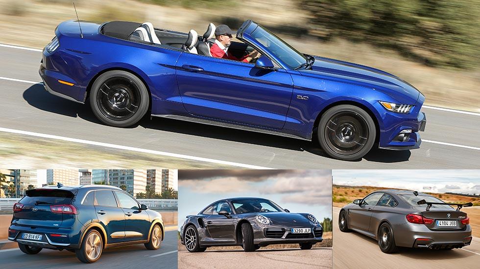 Los mejores coches que hemos probado en 2016