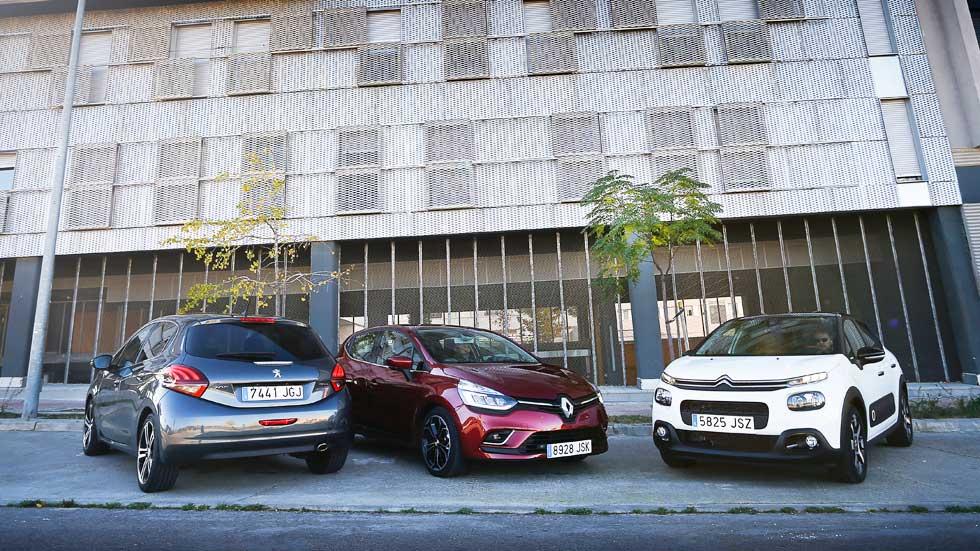 Citroën C3 BlueHDi, Peugeot 208 BlueHDi y Renault Clio dCi: ¿cuál es mejor?