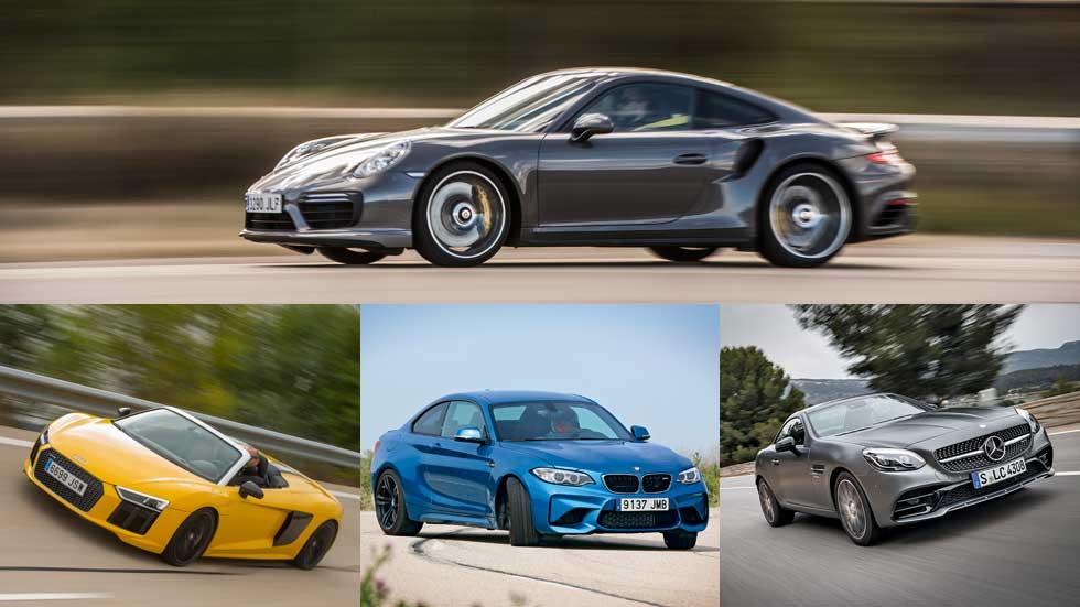 Los 10 coches que mejor aceleran de 2016, según nuestras pruebas