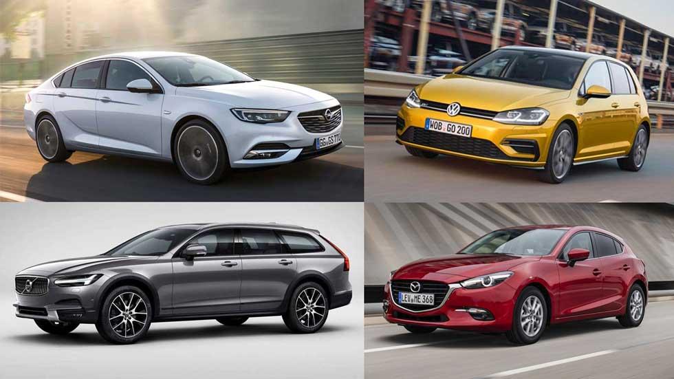 Todos los coches compactos y berlinas de 2017: ¡más de 40 novedades!