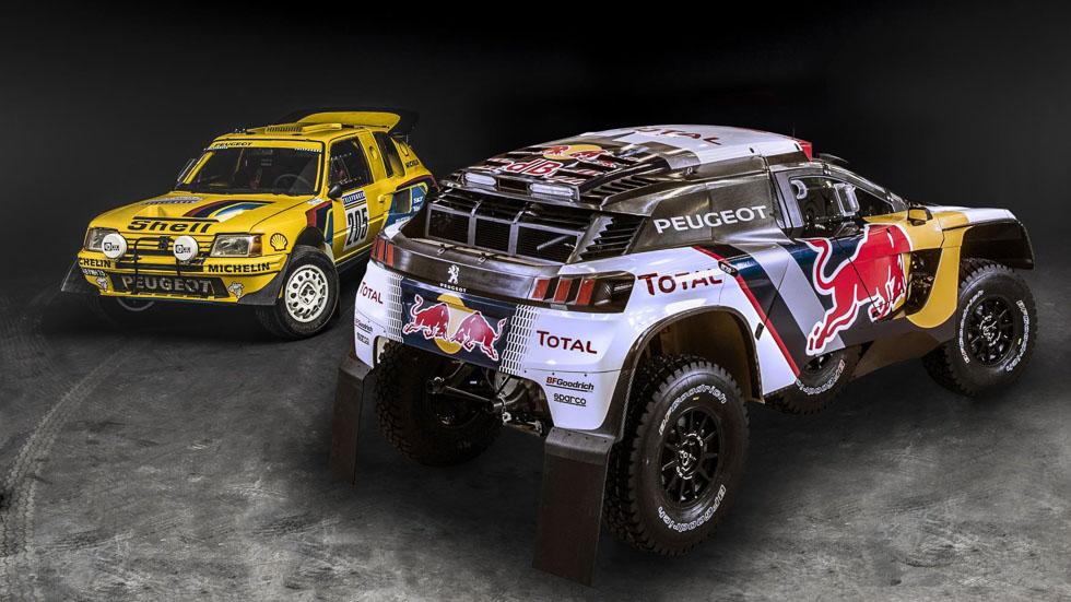 Del 205 T16 al 3008 DKR, 30 años de Peugeot en el Dakar