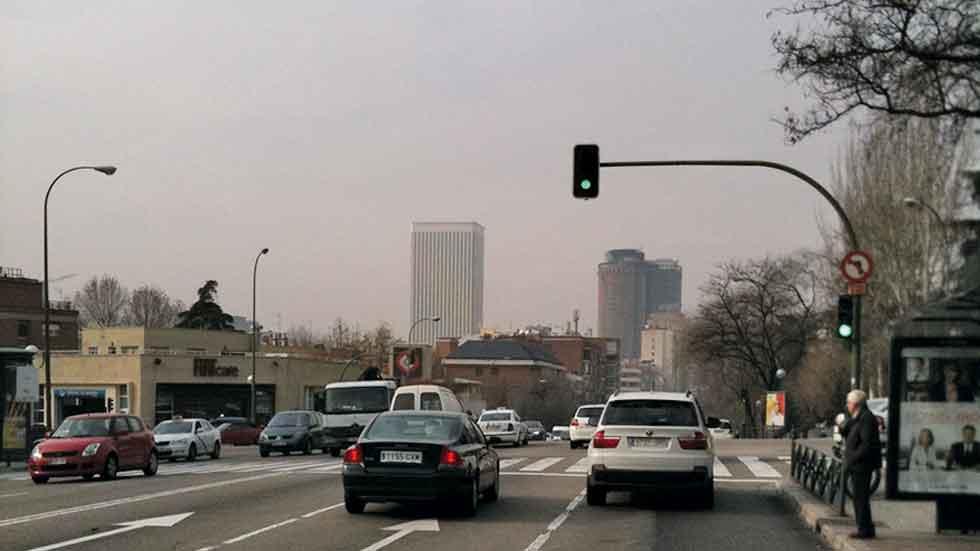 Madrid vuelve hoy al nivel 2 anticontaminación: todos los coches pueden circular