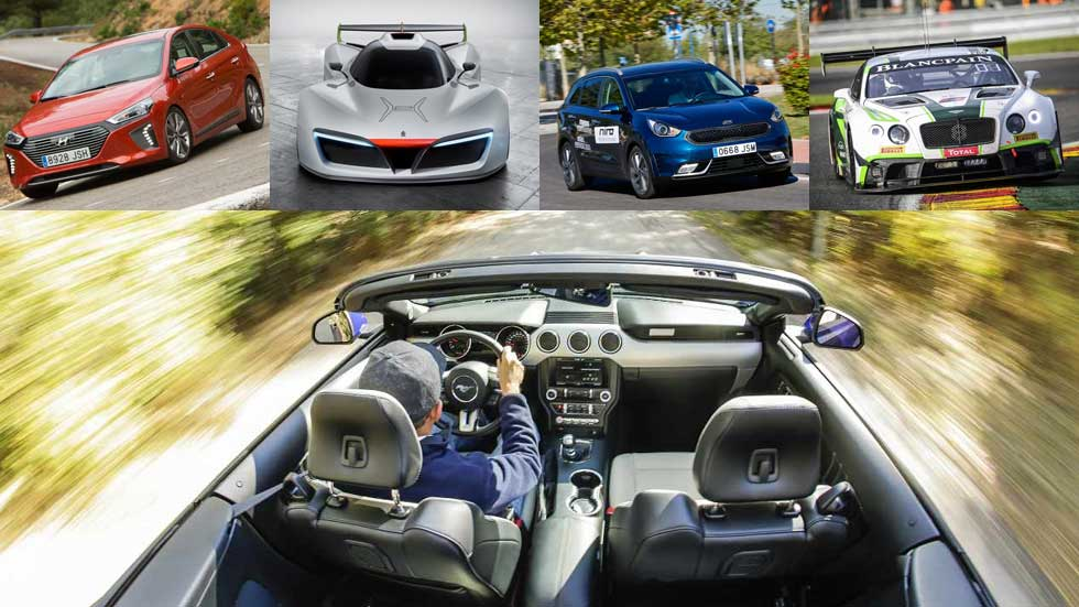 Un año de motor y coches: los mejores de 2016