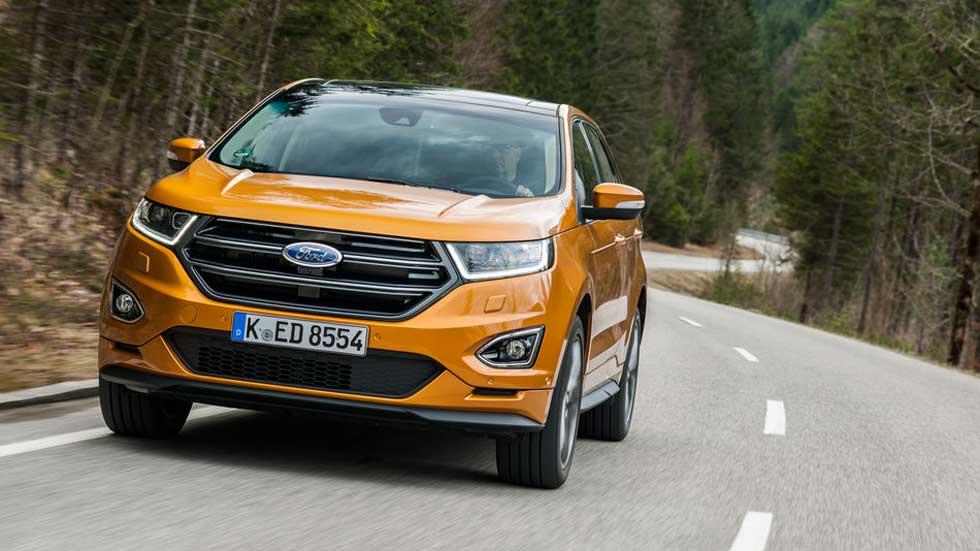 Ford Edge 2.0 TDCi 210 CV: consumo real y primeras impresiones