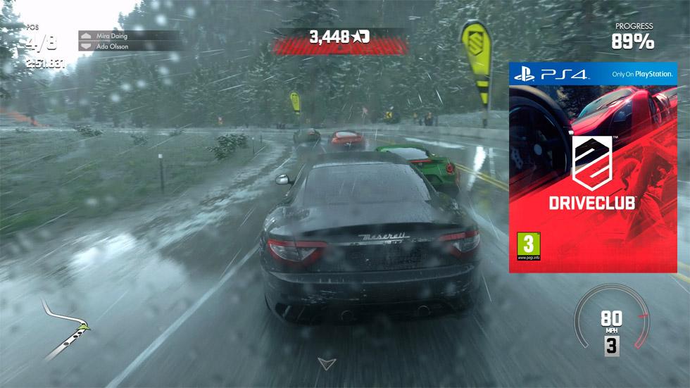 Driveclub para PS4: los nombres de los 5 ganadores
