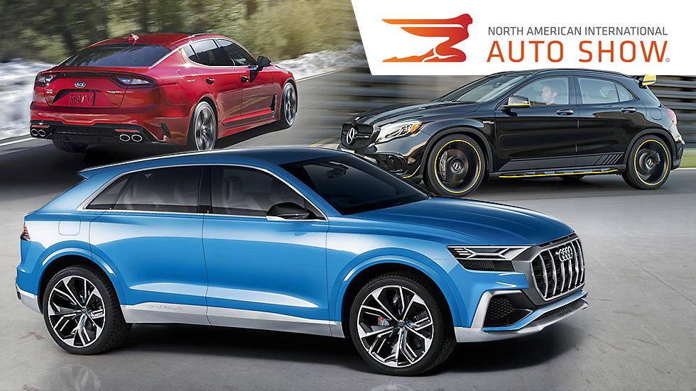 Salón de Detroit 2017: todas las novedades de coches