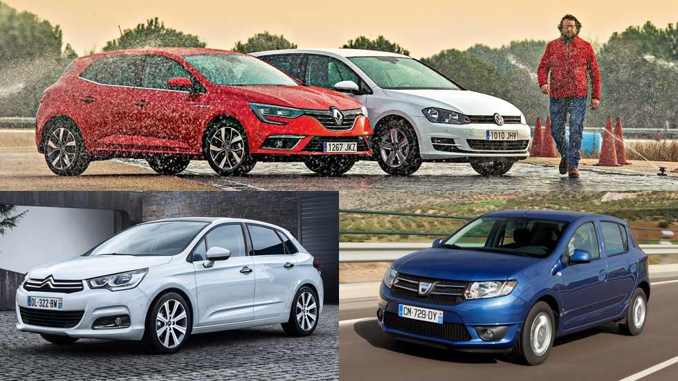 Los 10 coches más vendidos en España en 2016