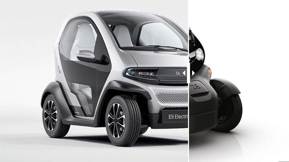 Eli Zero: ¿reinterpretación moderna o copia del Renault Twizy?