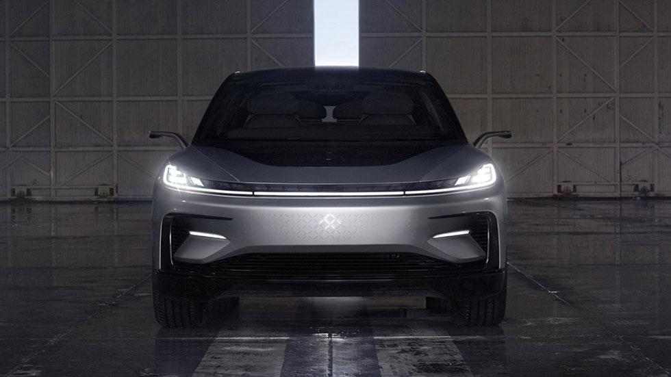El primer coche de Faraday Future, el FF 91, un SUV eléctrico ¡brutal!