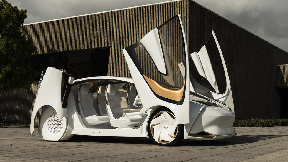 Toyota i Concept, el coche con Inteligencia Artificial