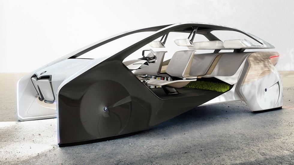 BMW i Inside Future Concept: así será el interior de los BMW del futuro