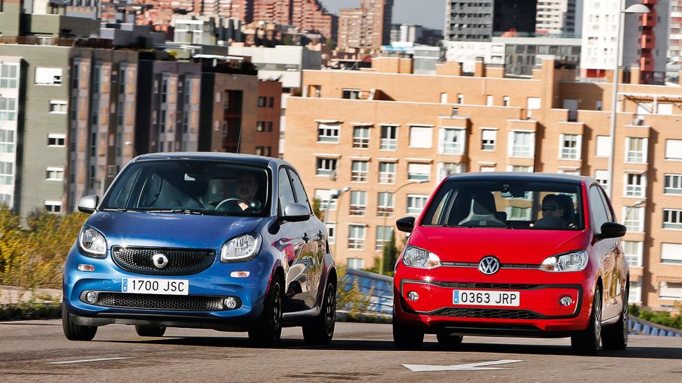 Smart Forfour 1.0 vs Volkswagen Up! 1.0: personalidad urbana