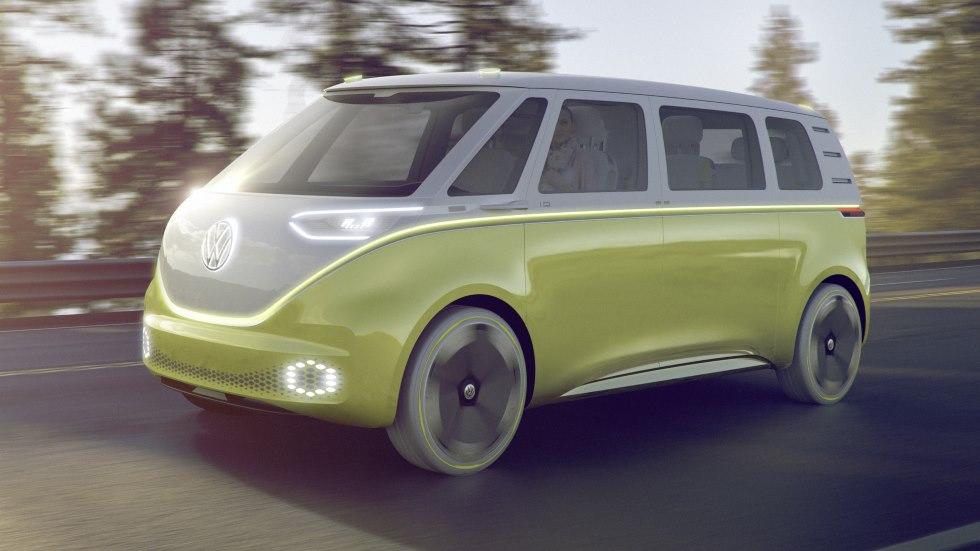Volkswagen I.D. Buzz, el Bulli de siglo XXI se estrena en Detroit