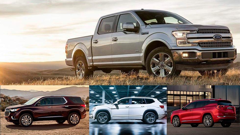 Los grandes americanos de Detroit: Ford F-150, GMC Terrain, VW Atlas…