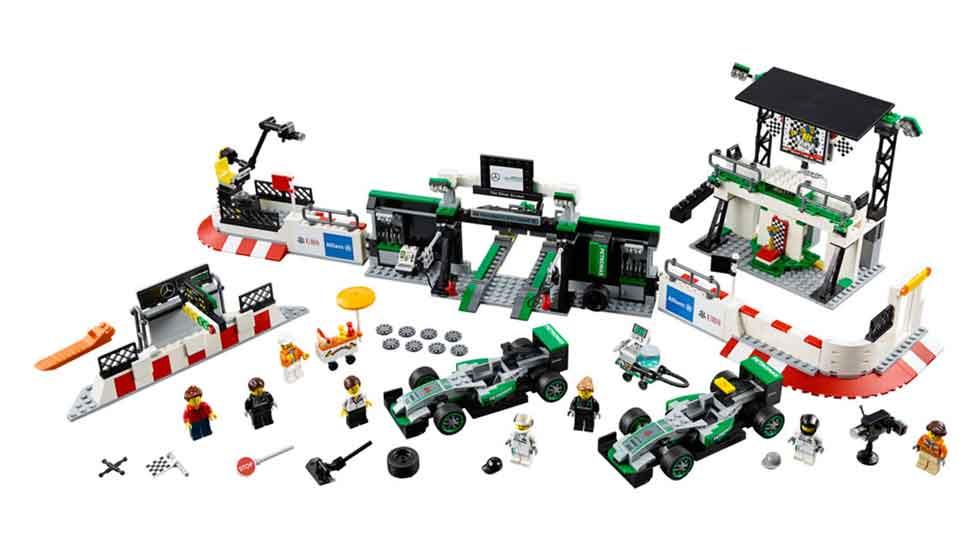 Los últimos coches de Lego: Bugatti Chiron, Ferrari FXX K, Ford GT…