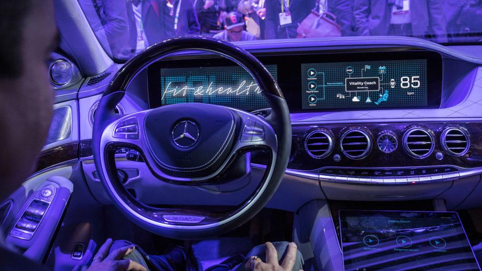 Las mejores tecnologías para coches vistas en el CES 2017