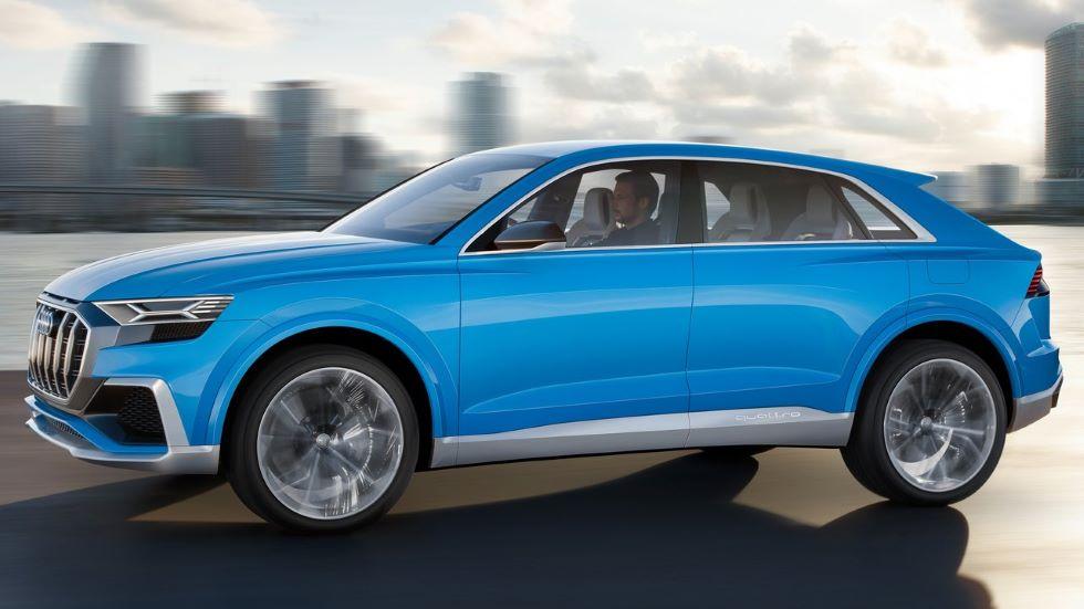 Audi Q8 Concept, el nuevo SUV de lujo para 2018