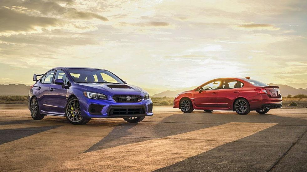 Nuevos Subaru WRX y WRX STI: renovación del icono deportivo