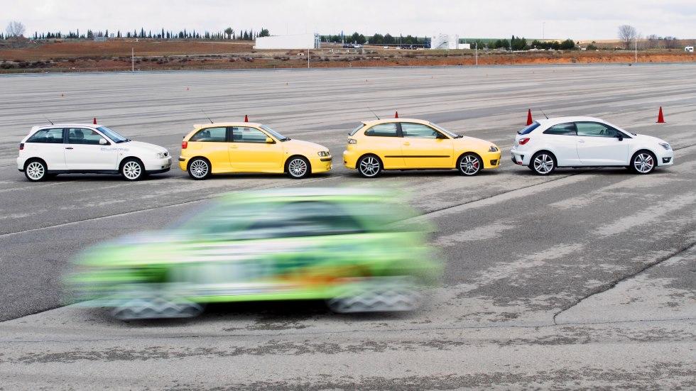Seat Ibiza Cupra: a prueba algunas de sus versiones más especiales