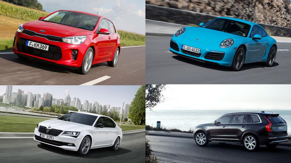 Los coches mejor valorados en Internet en 2016