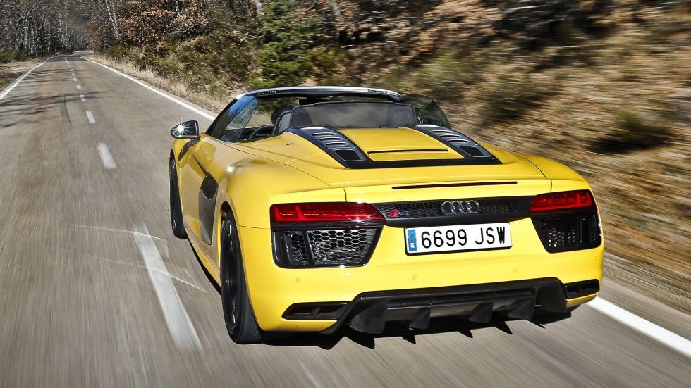 Audi R8 Spyder V10: primeras impresiones y consumo real
