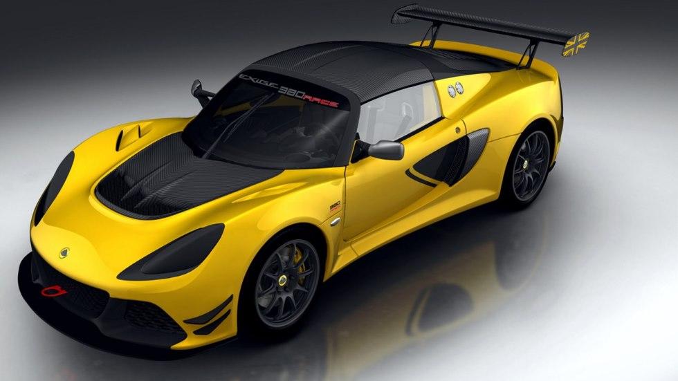 Lotus Exige Race 380, un deportivo de otra galaxia