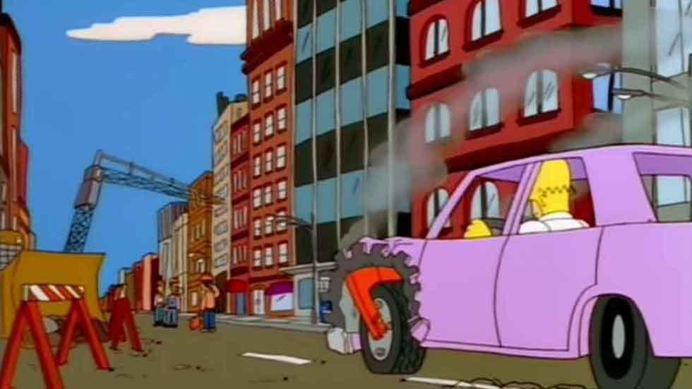 Los Simpson revelan por fin el coche de Homer