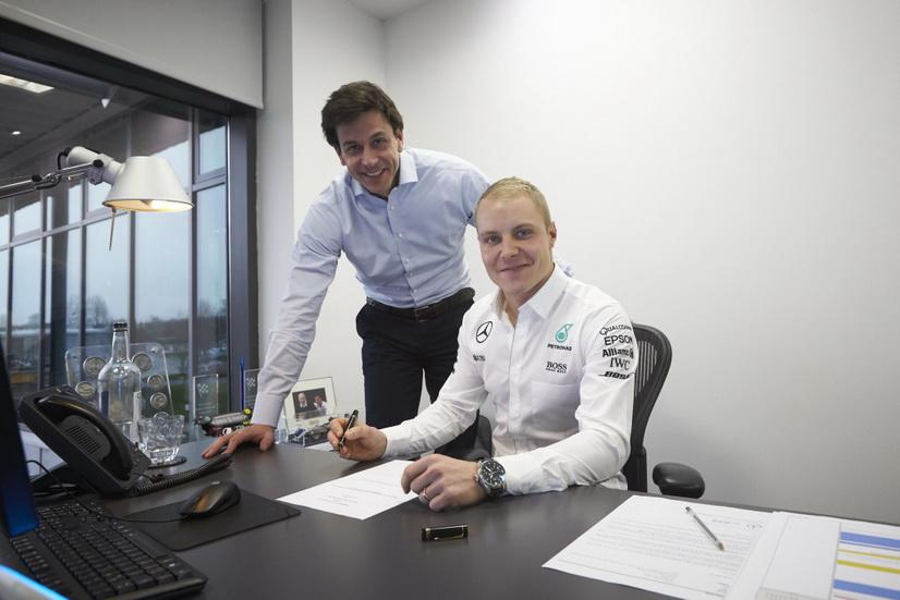 Mercedes confirma oficialmente a Bottas