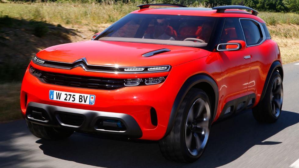 Citroën C5 Aircross: el nuevo SUV podría llegar ya en 2017